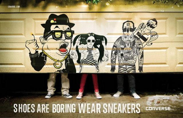 Shoes are boring par Converse