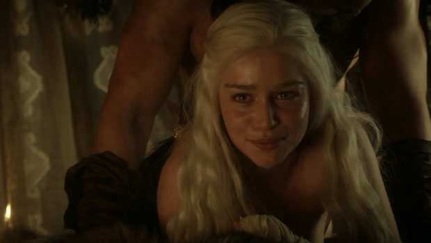 Game of Thrones sexe emilia clarke