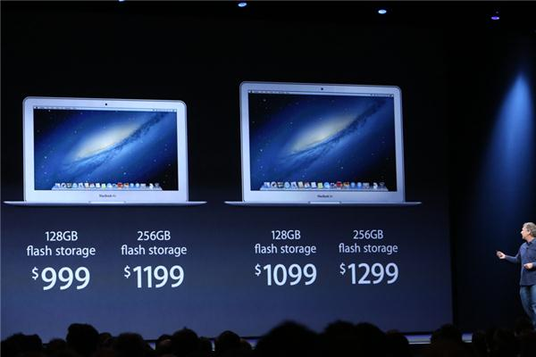 Les prix du Macbook Air 2013