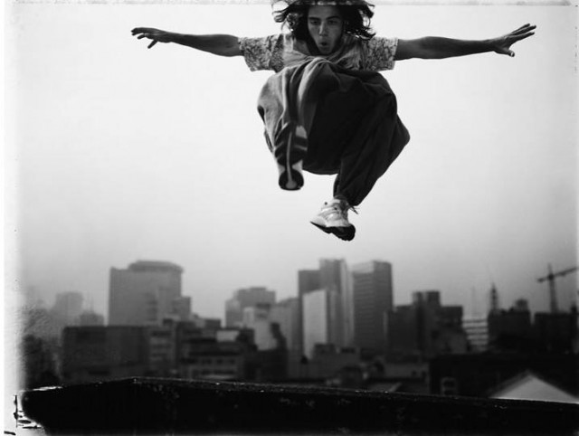 Freerunning – Black & White