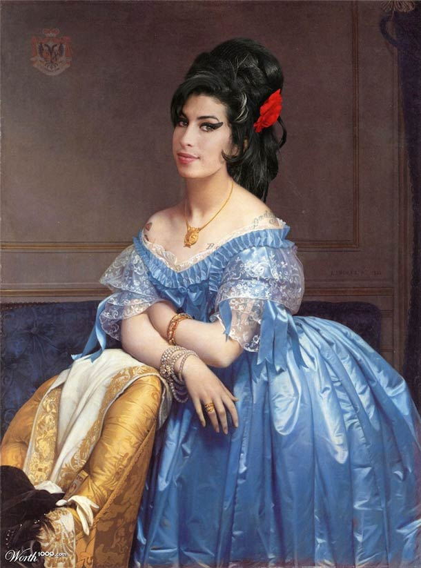 Celebrities-classical-painting-16