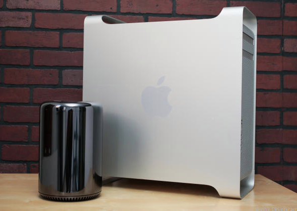 Mac Pro comparatif taille