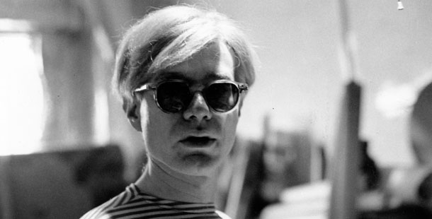 Photographie d'Andy Warhol