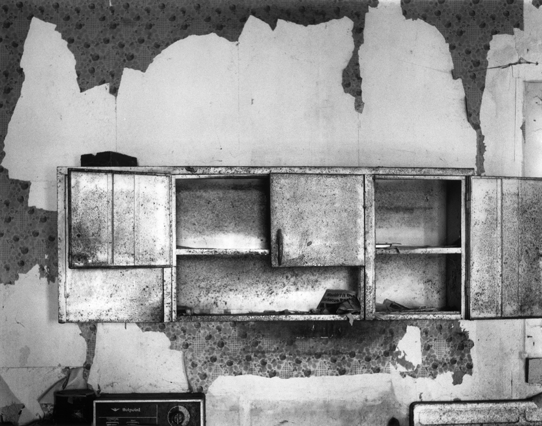 Kitchen, no.2, Ferny's place, Cuming County, Nebraska, 2004.