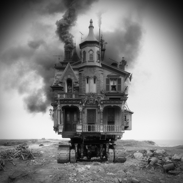 Architecture irr aliste et photomontage par jim kazanjian for Architecture fantastique