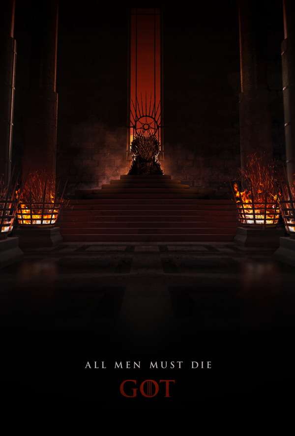 affiche game of thrones HBO