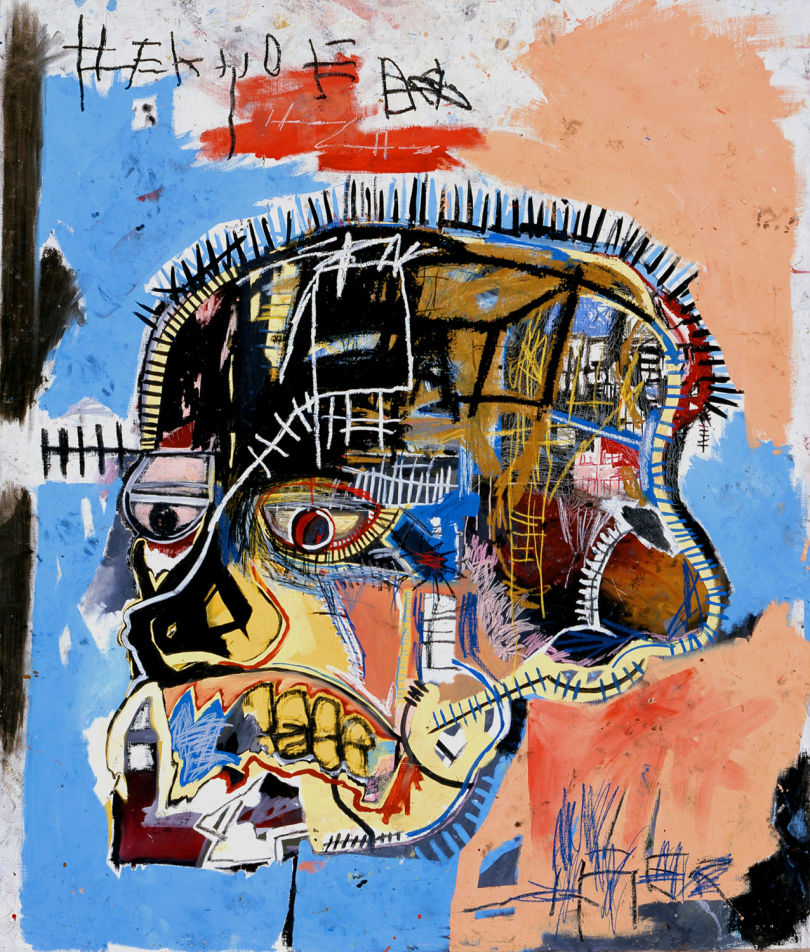 Untitled head jean-Michel Basquiat