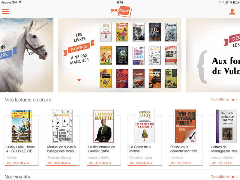 Youboox : la lecture en streaming
