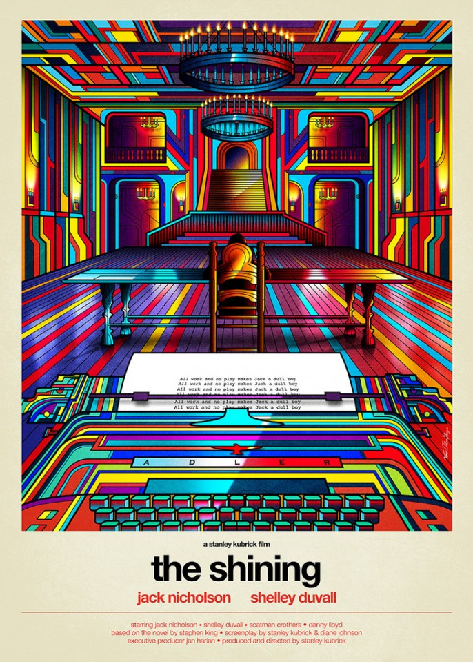 Artwork Kubrick The Shining