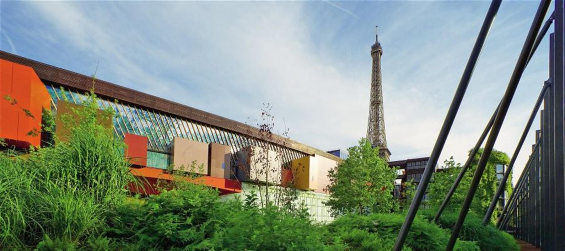 L 39 architecture du mus e du quai branly for Jardin quai branly