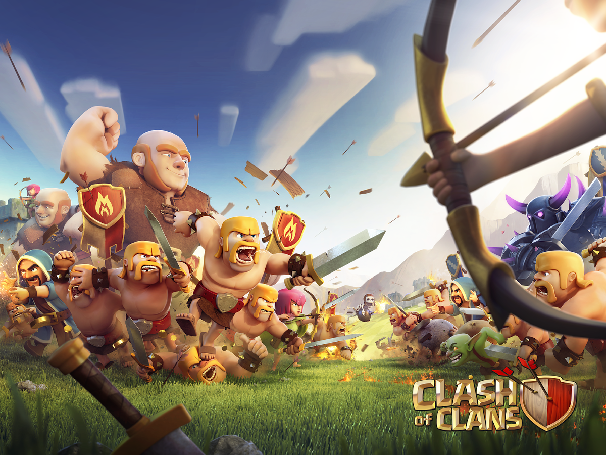 clash of clans free to play