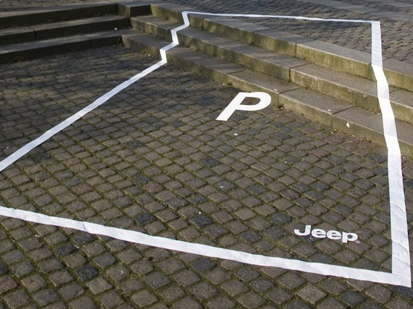 Jeep street marketing