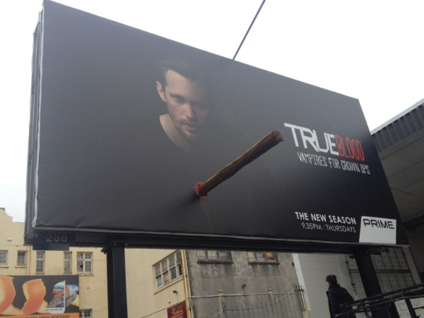 True Blood street marketing