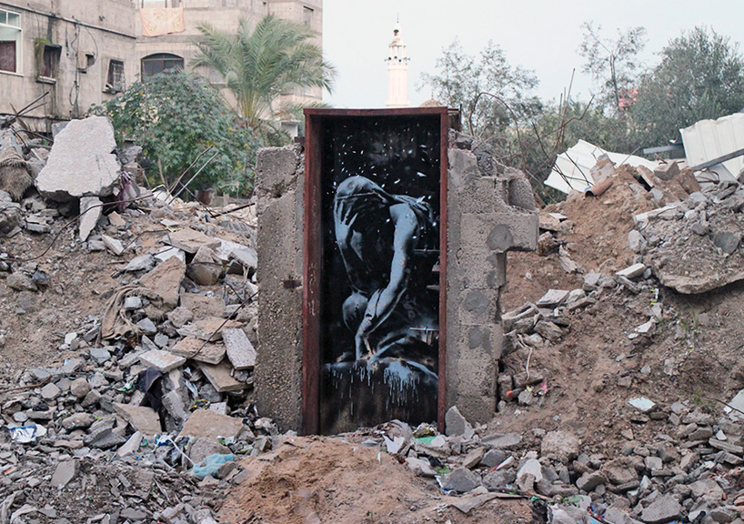 Banksy Gaza chat