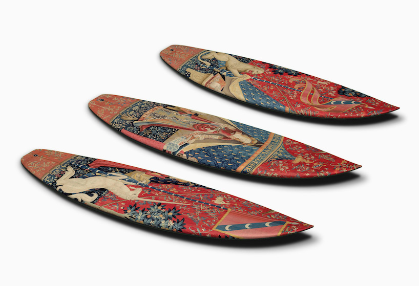 Boom art surfboard