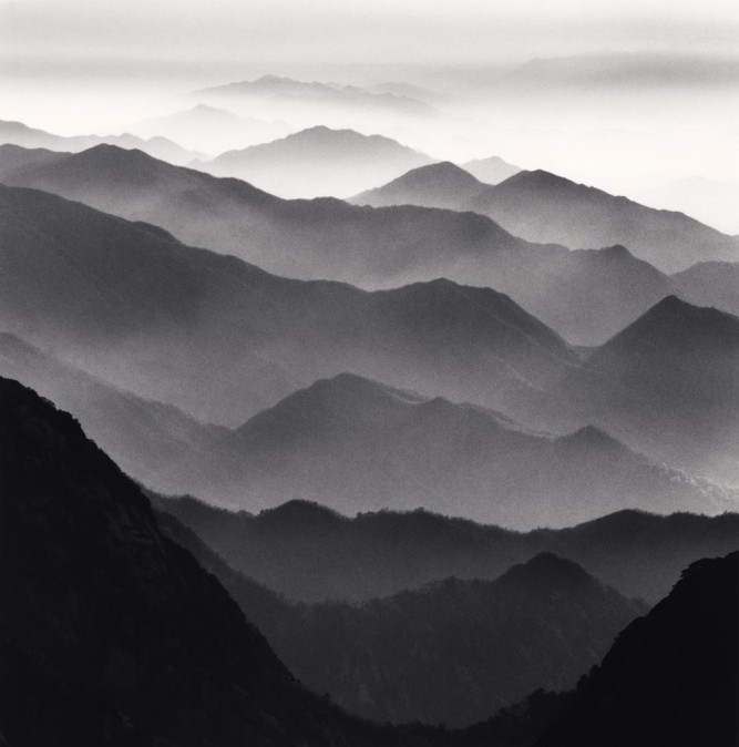 Anhui, Chine Michael Kenna