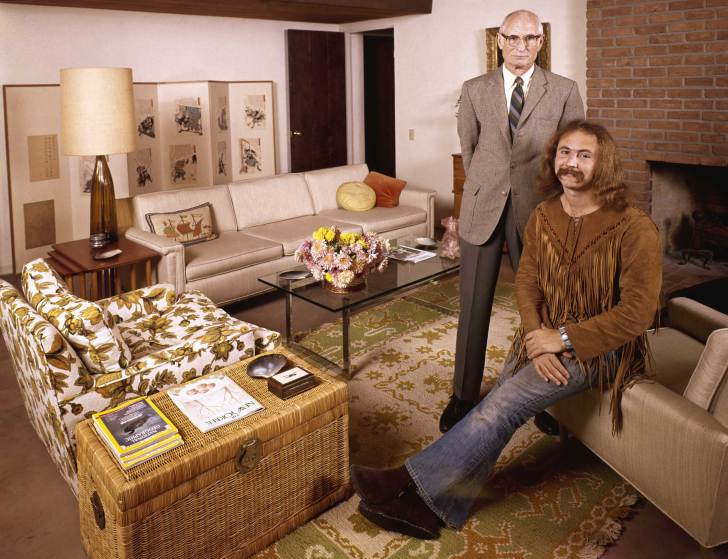 David Crosby et ses parents