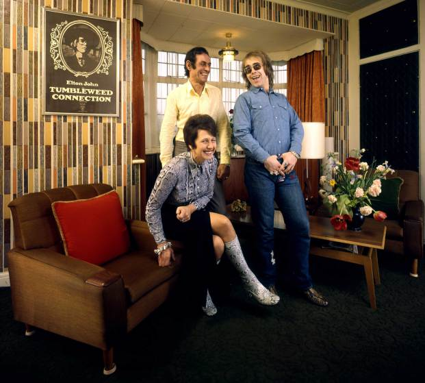 Elton John et ses parents