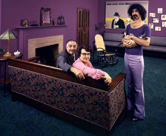 Frank Zappa et ses parents