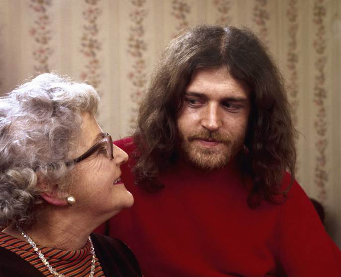 Joe Cocker et sa mère