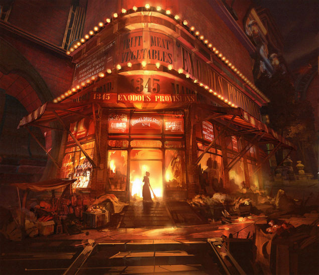 Bioshock Infinite direction artistique