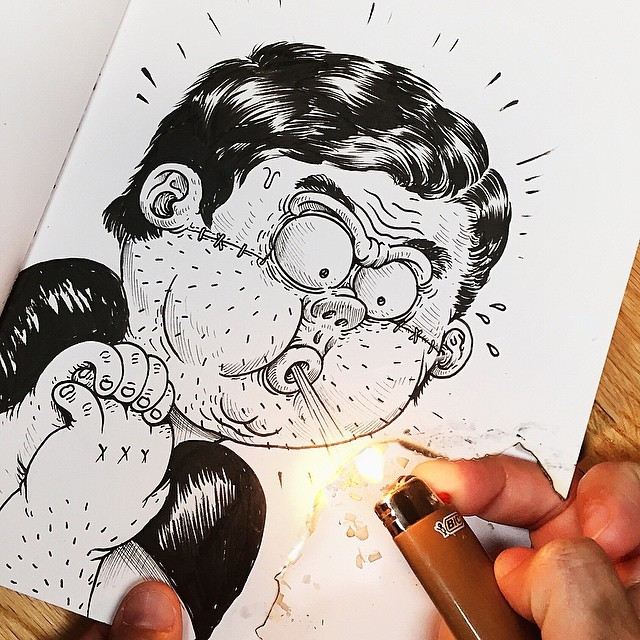Alex Solis dessin interatif