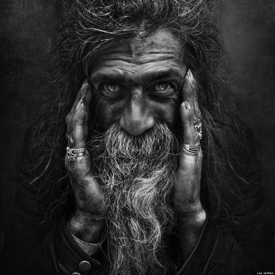 Portraits de sans-abris par Lee Jeffries