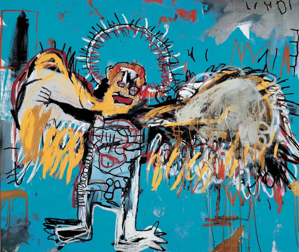Untitled Fallen Angel peinture de Basquiat