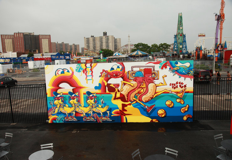Coney Island Art Walls