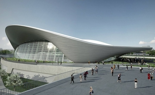 Zaha Hadid Aquatic Center