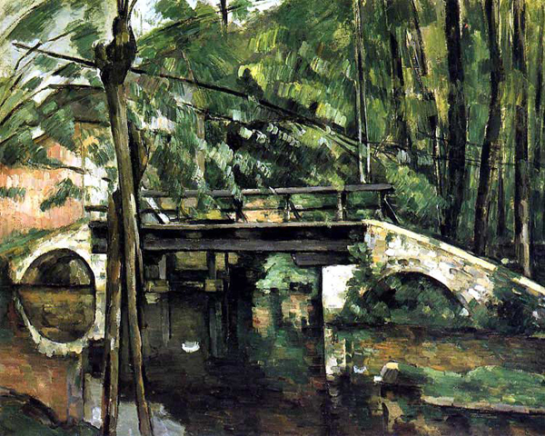 Paul Cézanne Le pont de Maincy