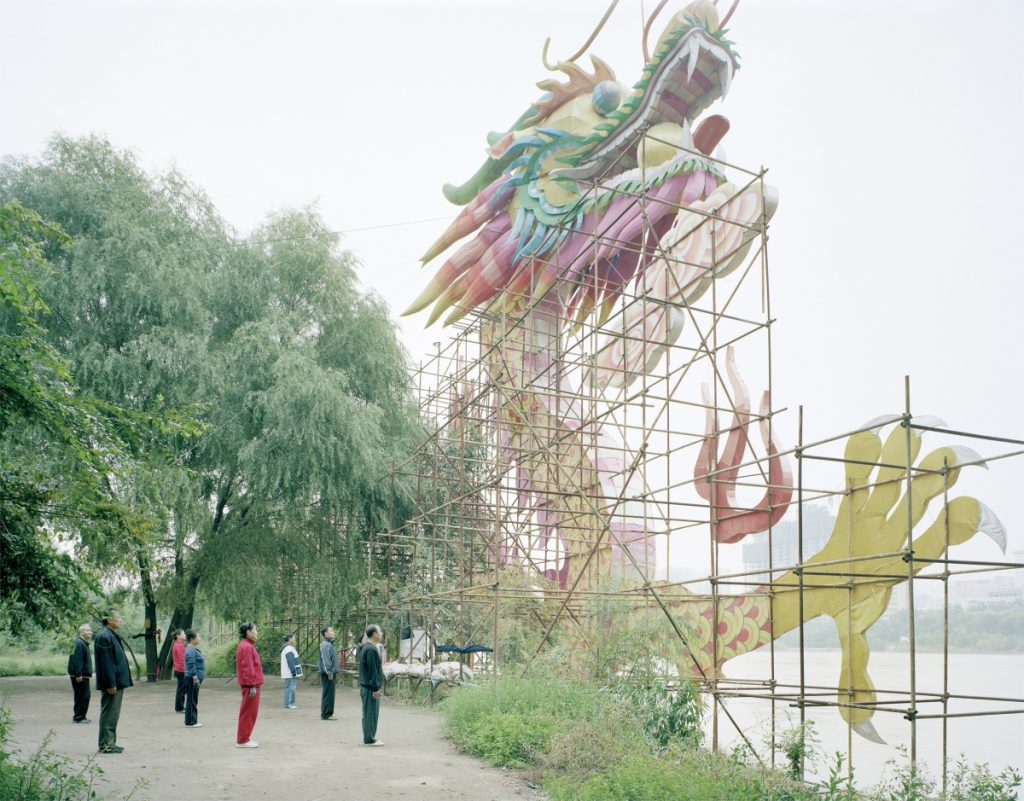 De fascinantes photographies de la Chine post-industrielle par Zhang Kechun