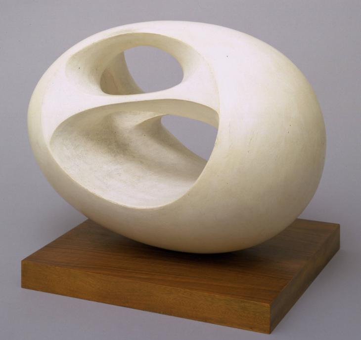 Barbara hepworth Oval Sculpture (No. 2)