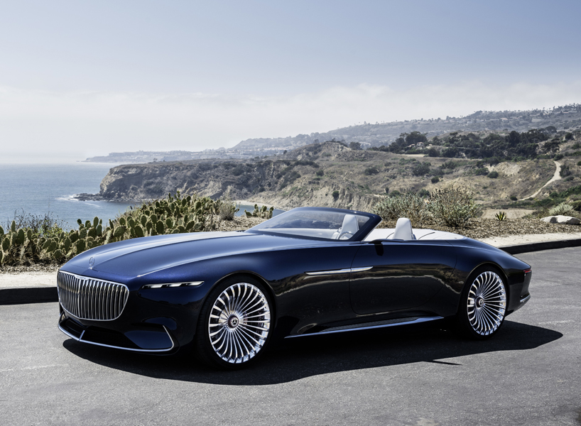maybach vision 6 mercedes