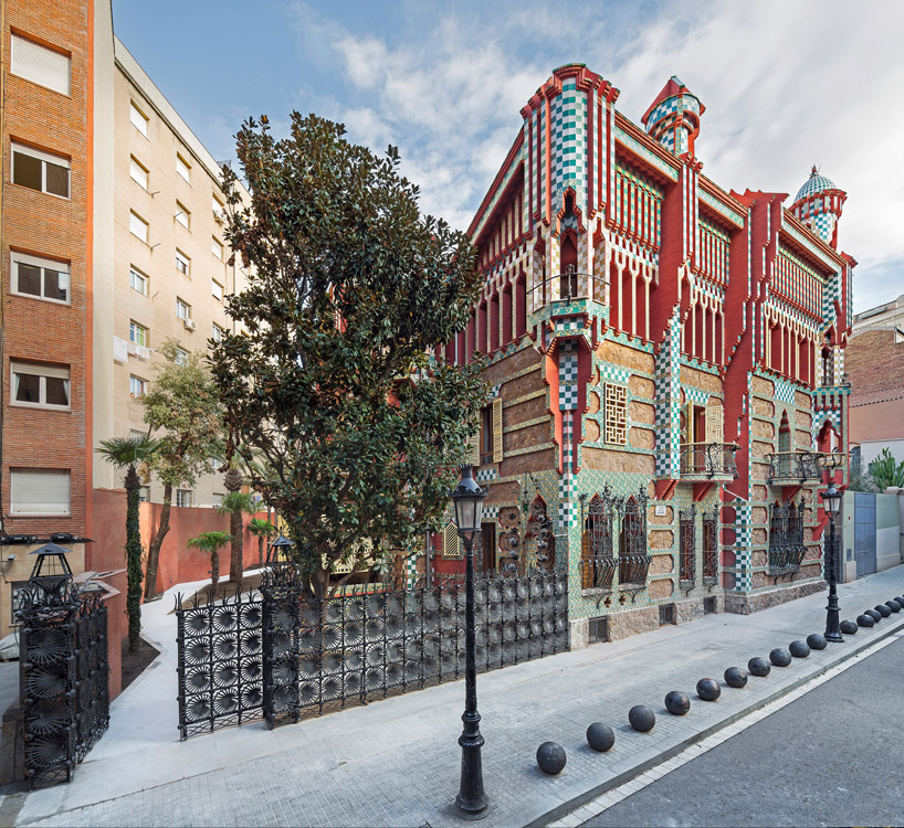 Casa Vicens Gaudi restauration