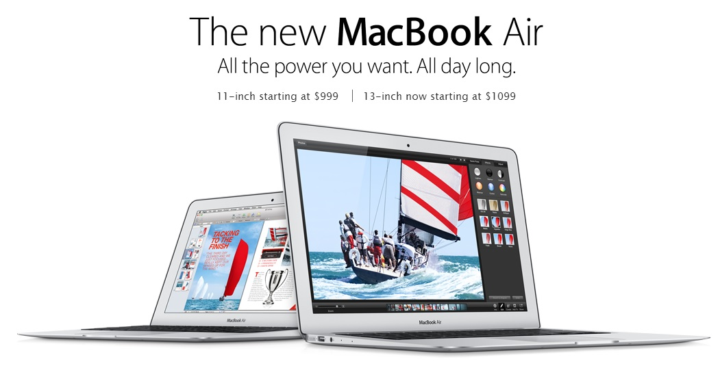 Nouveau MacBook Air 2013