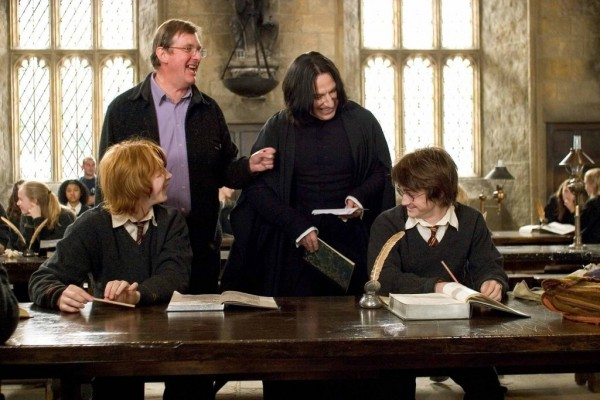 Coulisses Harry potter