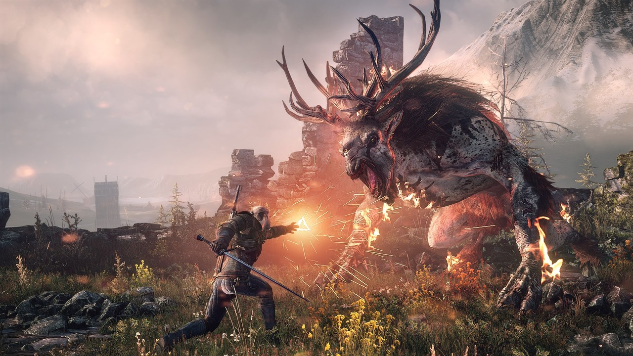Premier Test pour The Witcher 3 : Wild Hunt