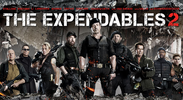 Expendables 2 streaming