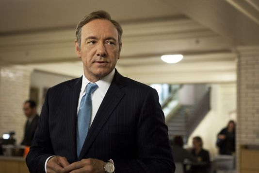 Frank Underwood dans la saison 2 d'House of Cards