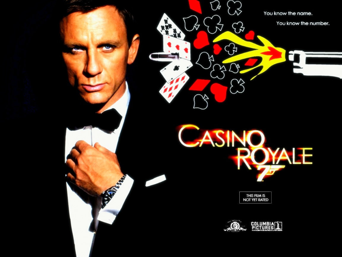james Bond casino royal avec Daniel Craig