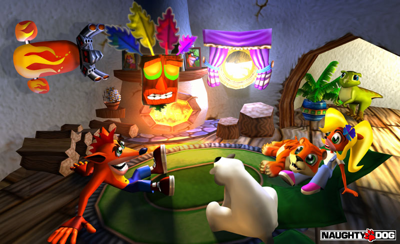 Crash Bandicoot Naughty Dog