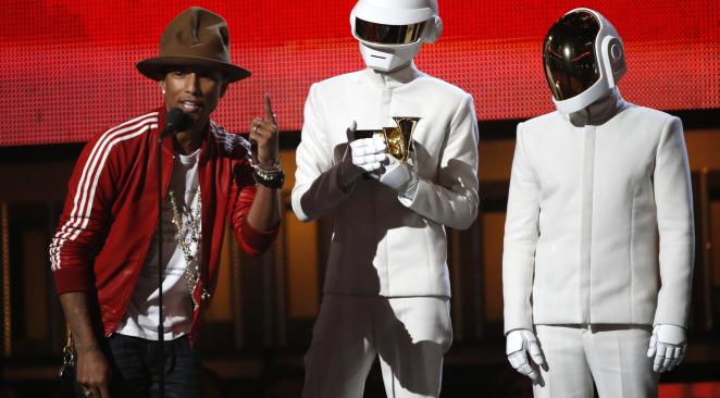 Daft Punk aux Grammy Awards