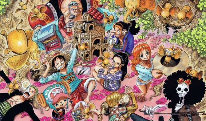 Le manga One Piece en france