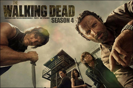 Walking Dead la saison 4 sur AMC