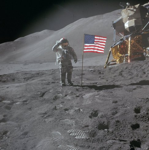 En 1971, la mission Apollo 15