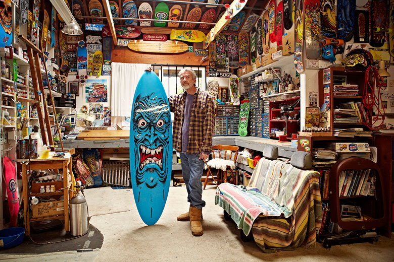 Jim Phillips le designer de Skateboards