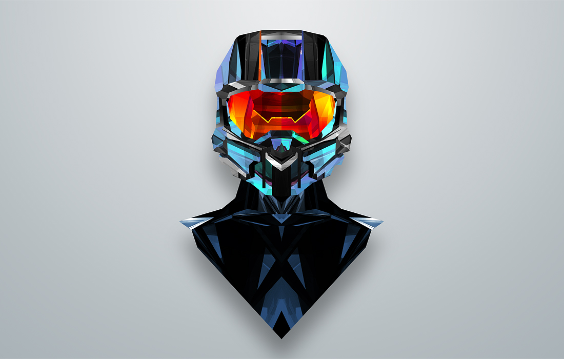 halo facets