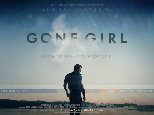 Gone girl film affiche