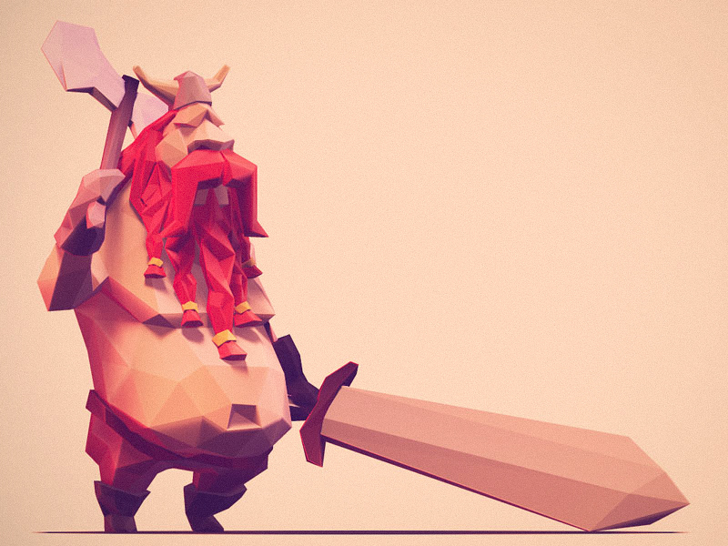Personnages Low Poly
